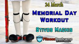Memorial Day Workout 24th Mar 2017