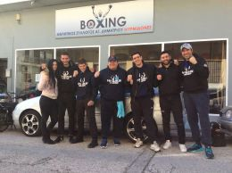Mirmidones Sparring Day Papazoglou boxing