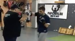 LIVE Workout Focus Mitts Papazoglou boxing