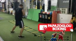 LIVE Agility ladder boxing drills Papazoglou boxing