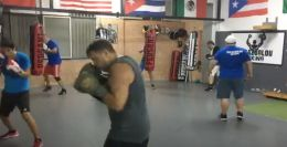 LIVE Heavy Bags Drills Papazoglou boxing