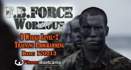 Fitness Bootcamp Force Workout LEVEL 2