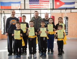 Papazoglou Kung Fu Kids Yellow Belts Certification
