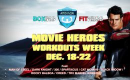 Movie Heroes workout WEEK