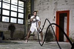 The battling ropes training system by Coach Dimitris Papazoglou BSc Sports Science