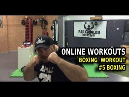Boxing workout online season 1 workout 4